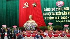 Đồng chí Dương Văn Trang tiếp tục là Bí thư Tỉnh ủy Kon Tum