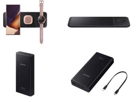 Samsung ra mắt bộ sạc và pin sạc dự phòng cho các thiết bị di động
