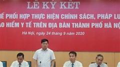 Hơn 90 % dân số ở Thủ đô Hà Nội tham gia bảo hiểm y tế