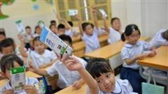 Học sinh Hà Nội hào hứng với sữa học đường