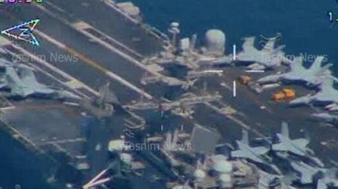 Iran công bố chấn động về tàu sân bay Mỹ ở eo biển Hormuz: Hậu quả thảm khốc nếu nổ súng!