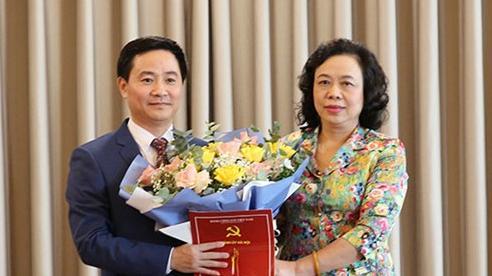 Bổ nhiệm Chánh Văn phòng Thành ủy Hà Nội và Bí thư huyện Mỹ Đức