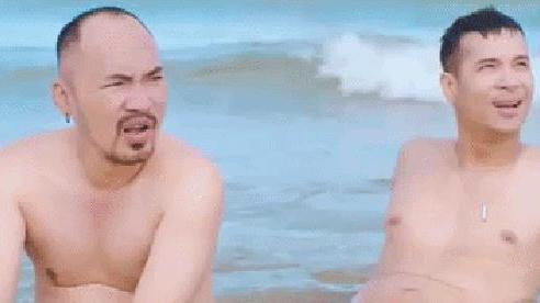 Trương Thế Vinh khoe 'múi cuồn cuộn' trên biển, rủ rê Trường Giang, Tiến Luật, Ninh Dương Lan Ngọc,... cùng 'chill' trong MV mới