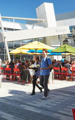 Tròn mắt với các món ăn như nhà hàng 5 sao ở căng tin của Google