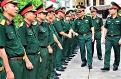 Thượng tướng Bế Xuân Trường kiểm tra Nhà máy Z173