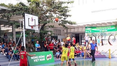142 đội dự giải bóng rổ học sinh tiểu học Hà Nội 2020