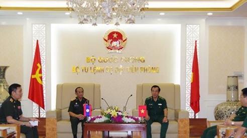 Tiếp tục thúc đẩy quan hệ hợp tác giữa lực lượng bảo vệ biên giới Việt Nam - Lào