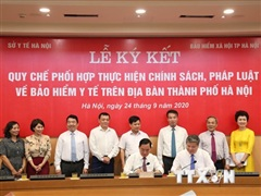 Liên ngành BHXH-Y tế ký cam kết ngăn chặn trục lợi bảo hiểm