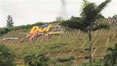 Thực hư tỉnh Hòa Bình chi hơn 10 tỉ đồng để xây lắp khẩu hiệu trên đồi Ông Tượng