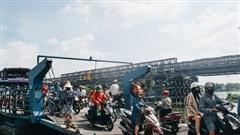 Cận cảnh cầu sắt hiện đại gần 80 tỷ đồng, sắp thay thế bến phà cuối cùng trong nội thành Sài Gòn