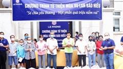 Công ty Lê Phong trao nhiều phần quà cho người nghèo trong mùa Vu lan