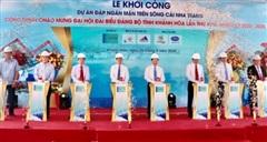 Khánh Hòa đầu tư 760 tỷ đồng xây đập ngăn mặn