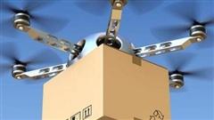 Giao dụng cụ xét nghiệm COVID-19 bằng máy bay không người lái