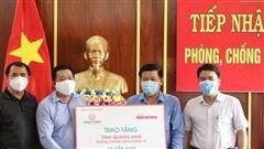 Bệnh viện Đa khoa Trung ương Quảng Nam cảm ơn Báo Người Lao Động