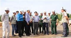 Áp dụng cơ chế thưởng, phạt tiến độ tại dự án đường cao tốc Bắc - Nam