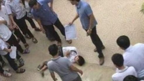 Hà Nội: Trèo lan can, một học sinh trường cấp 2 Đống Đa ngã phải nhập viện