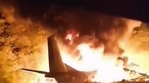 Máy bay quân sự Ukraine gặp nạn, ít nhất 22 người tử vong
