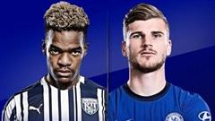 West Brom 3-2 Chelsea: Đội khách vùng lên (H2)