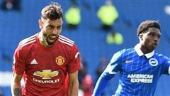 Vòng 3 Premier League: Man United thắng Brighton 3-2 trong thế thua