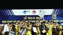 Học trò Văn Quyến vô địch giải U17 Quốc gia