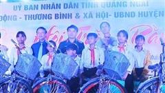 Quảng Ngãi: Trung thu yêu thương cho trẻ vùng cao Sơn Hà