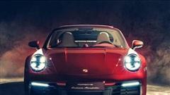 Cận cảnh Porsche 911 Targa 4S Heritage Design Edition