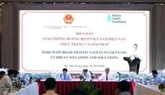 'Giao thông đường bộ ở Việt Nam hiện nay: Thực trạng và giải pháp'