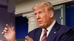 Tổng thống Trump nói gì trước tin chỉ đóng 750 USD thuế thu nhập năm 2016?