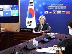 Việt Nam-Hàn Quốc đồng chủ trì Hội nghị Ngoại trưởng Hàn Quốc-Mekong
