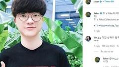 Ngay bài đăng thứ 3 trên Instagram, Faker đã làm 'náo loạn fan nữ' chỉ vì hành động này