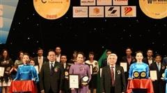 Văn Phú - Invest được vinh danh 'Top 20 nhãn hiệu Nổi tiếng Việt Nam'