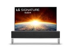 LG sắp giới thiệu tivi đầu tiên trên thế giới có thể cuộn lại