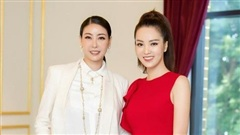 Á hậu Thụy Vân đọ sắc cùng Hà Kiều Anh tại Hoa hậu Việt Nam 2020