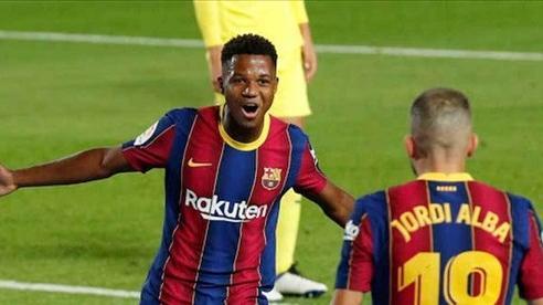 Barca gặp khó, chưa thể gia hạn 'thần đồng' Ansu Fati