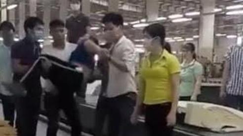Đánh nữ công nhân ngất xỉu tại xưởng: Đi làm bình thường