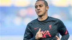 Klopp báo tin xấu Thiago, vắng mặt 2 trận tới của Liverpool