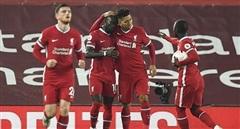 Cận cảnh màn lội ngược dòng của Liverpool trước Arsenal