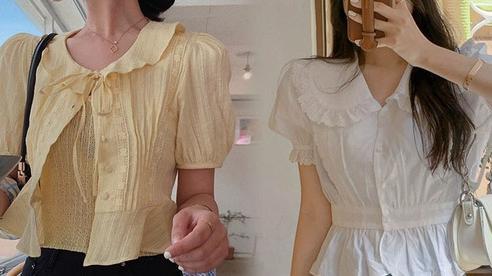 Thu đến cứ nhắm ngay áo blouse cổ lá sen, vừa dễ mặc lại còn điệu và sang