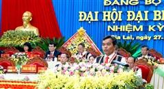 Đồng chí Hồ Văn Niên giữ chức Bí thư Tỉnh ủy Gia Lai khoá XVI