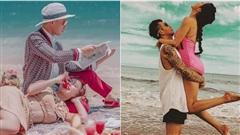 7749 concept chụp ảnh của vợ chồng Minh Nhựa đều toát ra 'mùi của giới siêu giàu', dân mạng được phen 'rửa mắt'