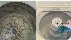 Hướng dẫn tự vệ sinh máy giặt cực đơn giản