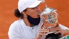 Học quần vợt qua game, Swiatek vẫn trở thành 'Nữ hoàng' Roland Garros 2020