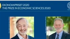 Hai nhà khoa học đoạt giải Nobel Kinh tế 2020
