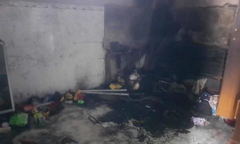 Hai anh em nghịch hộp quẹt dẫn đến cháy nhà, tử vong thương tâm