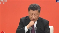 Truyền thông Đài Loan đưa tin ông Tập Cận Bình 'ho dữ dội' trên sóng trực tiếp ở Thâm Quyến