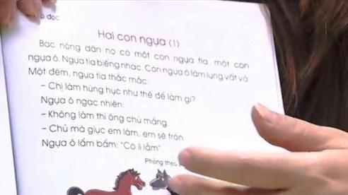 Sẽ chỉnh sửa nội dung trong sách giáo khoa tiếng Việt lớp 1