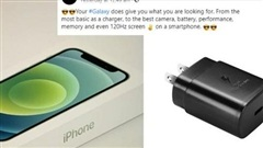 Samsung liên tục 'xỏ xiên' Apple sau màn ra mắt iPhone 12