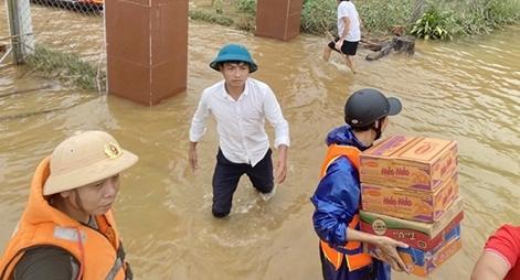 Lũ lên trở lại nhấn chìm nhiều nơi ở Quảng Trị