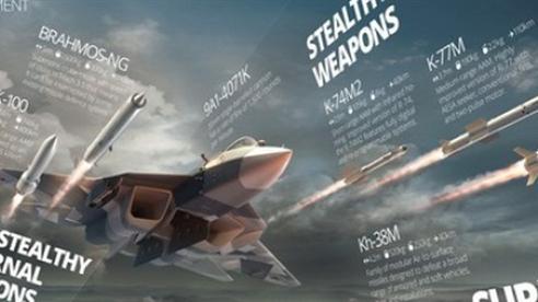 Nga thử vũ khí vi sóng cho tiêm kích thế hệ 6