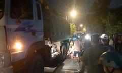 TPHCM: Thanh niên té xe trên đoạn đường nhiều ổ gà, bị xe tải cán tử vong